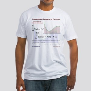 Fundamental Theorem of Calculus Fitted T-Shirt
