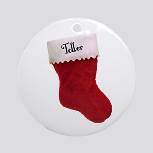 Toller Stocking Ornament (Round)