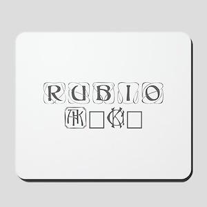Rubio 2016-Kon gray 460 Mousepad