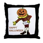 The Great Masonic Pumpkin Throw Pillow