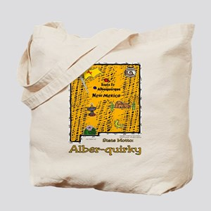 NM-Alber-quirky! Tote Bag
