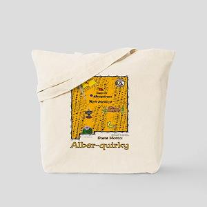NM-Alber-quirky! Tote Bag