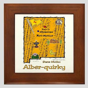 NM-Alber-quirky! Framed Tile