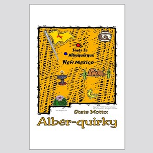 NM-Alber-quirky! Large Poster