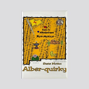 NM-Alber-quirky! Rectangle Magnet