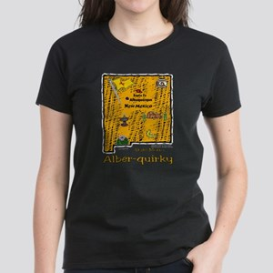 NM-Alber-quirky! Women's Dark T-Shirt