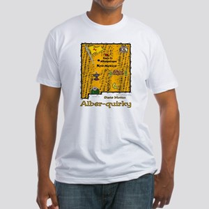 NM-Alber-quirky! Fitted T-Shirt