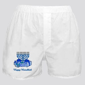 Menorah and Gifts Boxer Shorts