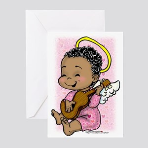 Musical Angel Greeting Cards (Pk of 10)
