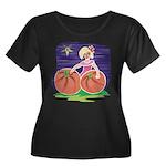 OES Halloween Pumpkin Patch Women's Plus Size Scoo
