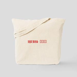 Rubio 2016-Pre red 550 Tote Bag