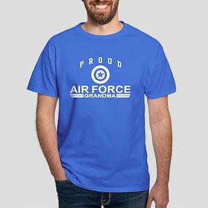 Proud Air Force Grandma Dark T-Shirt