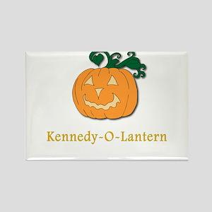 Kennedy-O-Lantern Rectangle Magnet