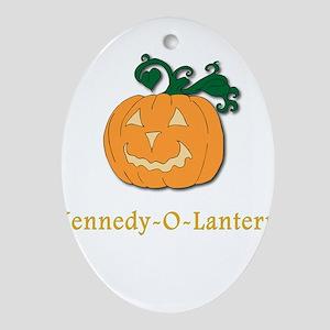 Kennedy-O-Lantern Oval Ornament