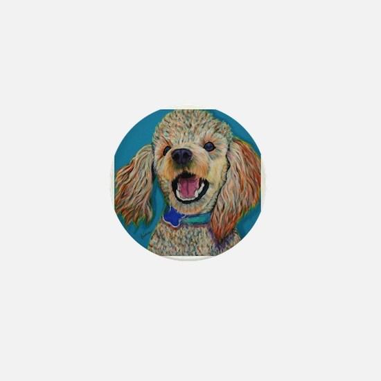 Lil' Poodle Mini Button
