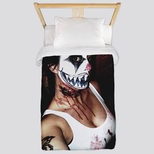 Scary self Twin Duvet Cover