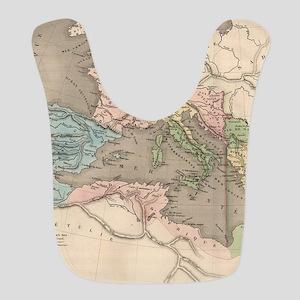 Vintage Map of The Roman Empire (1838) Bib