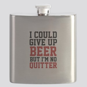 I Could Give Up Beer Flask