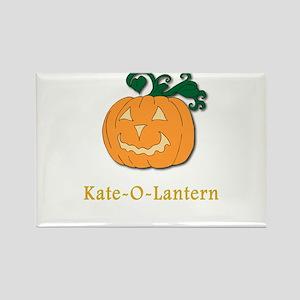 Kate-O-Lantern Rectangle Magnet