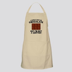 I Could Give Up Chocolate Apron