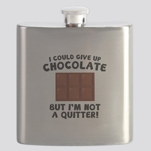 I Could Give Up Chocolate Flask