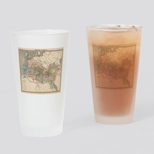 Vintage Map of The Roman Empire (18 Drinking Glass