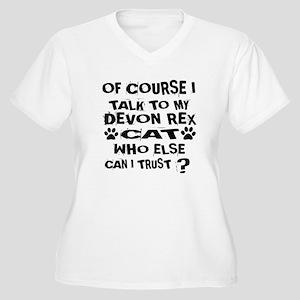 Of Course I Talk Women's Plus Size V-Neck T-Shirt