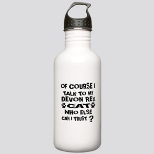 Of Course I Talk To My Stainless Water Bottle 1.0L