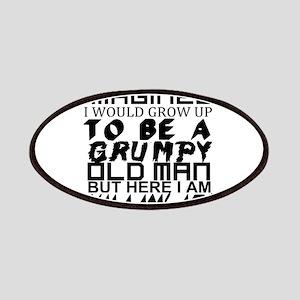 Grumpy Old Man Humor Patch