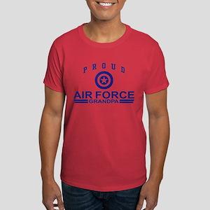 Proud Air Force Grandpa Dark T-Shirt