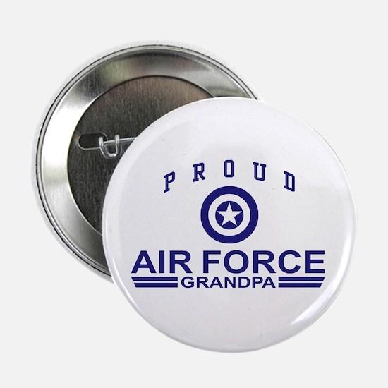 Proud Air Force Grandpa Button