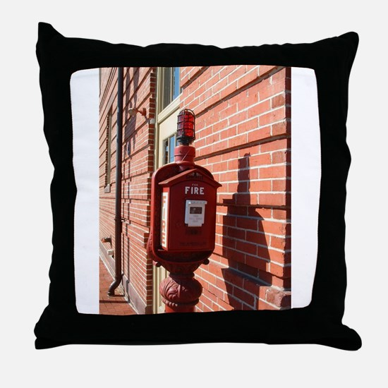 Alarm Box 1 Throw Pillow