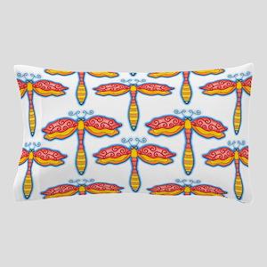 Red Dragonflies by Xen™ Pillow Case