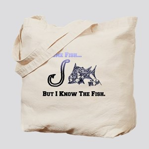 I Know Fish. Fish Retro Tuna RCM Wild Wow Tote Bag