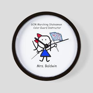 GCM - Mrs. Baldwin Wall Clock