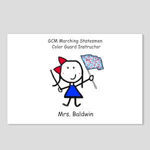 GCM - Mrs. Baldwin Postcards (Package of 8)
