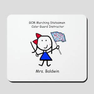 GCM - Mrs. Baldwin Mousepad