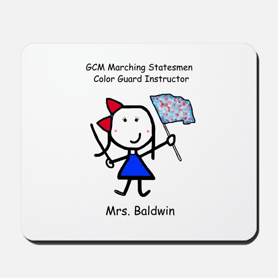 GCM - Mrs. Baldwin Mousepad