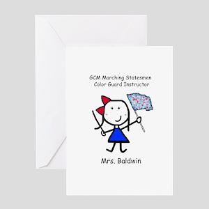 GCM - Mrs. Baldwin Greeting Card