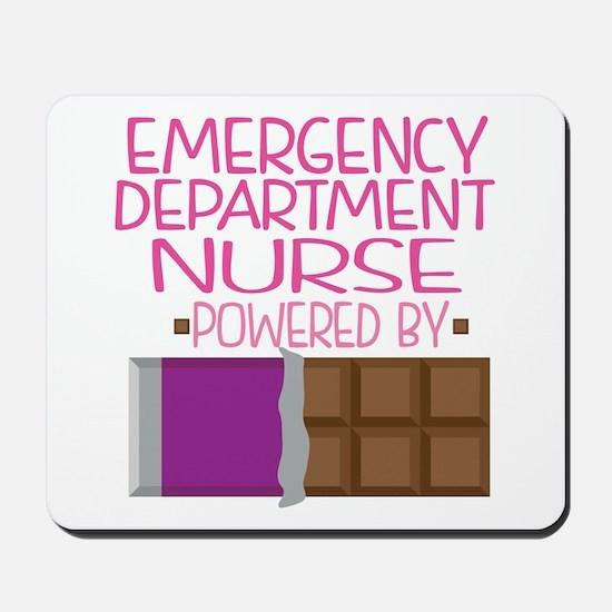 Emergency Department Nurse Mousepad