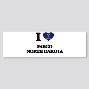 I love Fargo North Dakota Bumper Sticker