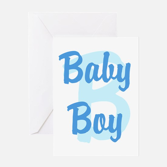 Baby Boy Greeting Cards