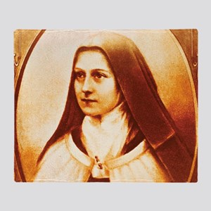 St. Therese Throw Blanket