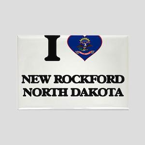 I love New Rockford North Dakota Magnets