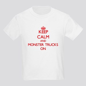 Keep Calm and Monster Trucks ON T-Shirt