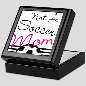 Not A Soccer Mom Keepsake Box