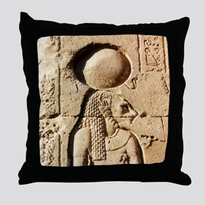 Sekhmet Lioness Goddess of Upper Egypt Throw Pillo