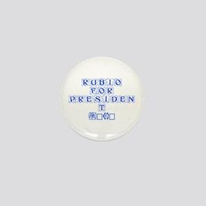 Rubio for President 2016-Kon blue 460 Mini Button