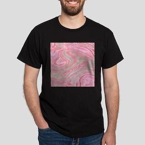 cute pink marble swirls T-Shirt
