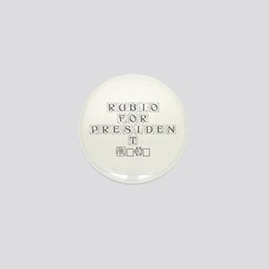 Rubio for President 2016-Kon gray 460 Mini Button